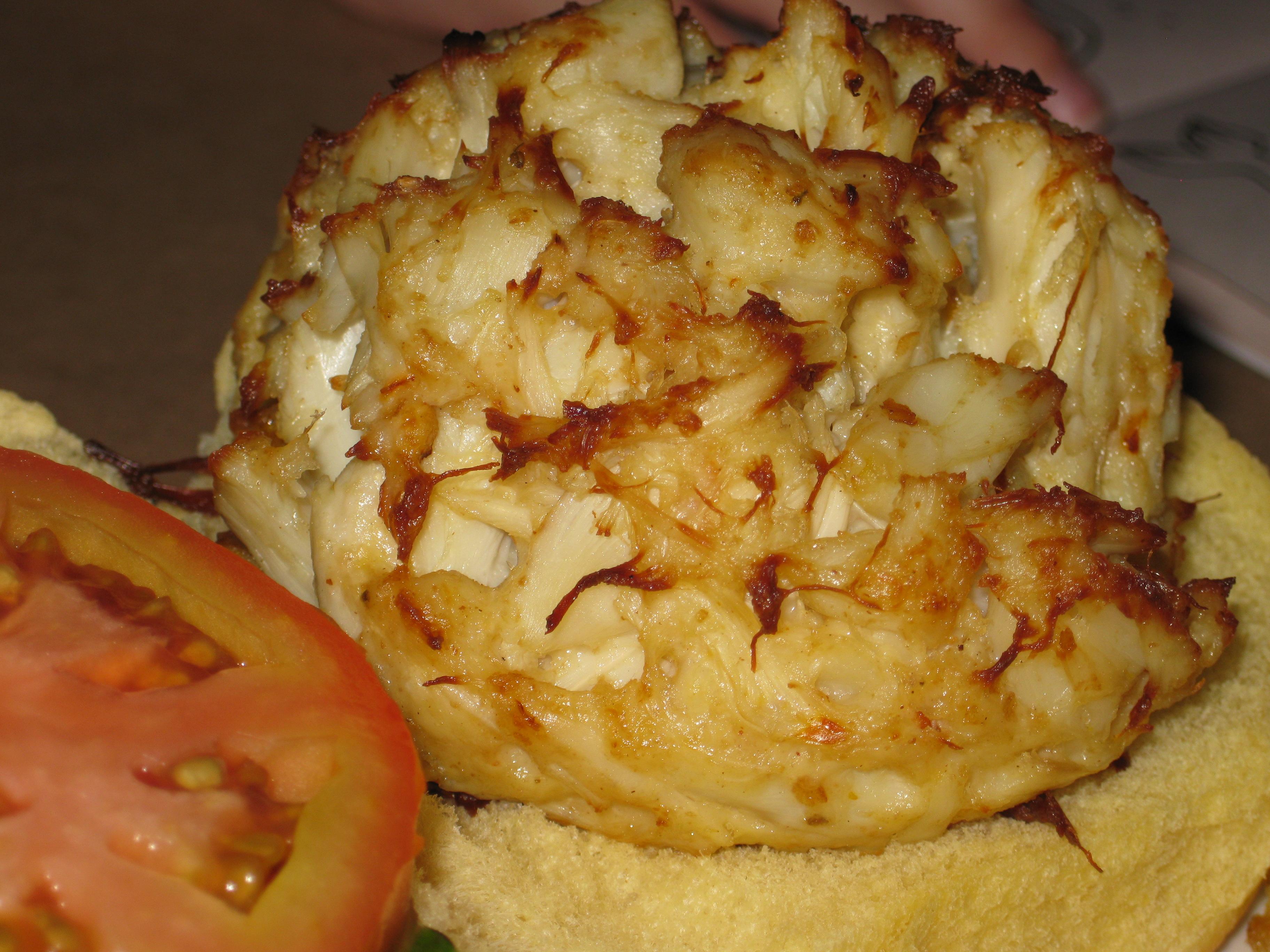 ... Crab Cake Dinner Stock Photo Image 9849640 Cake on Pinterest