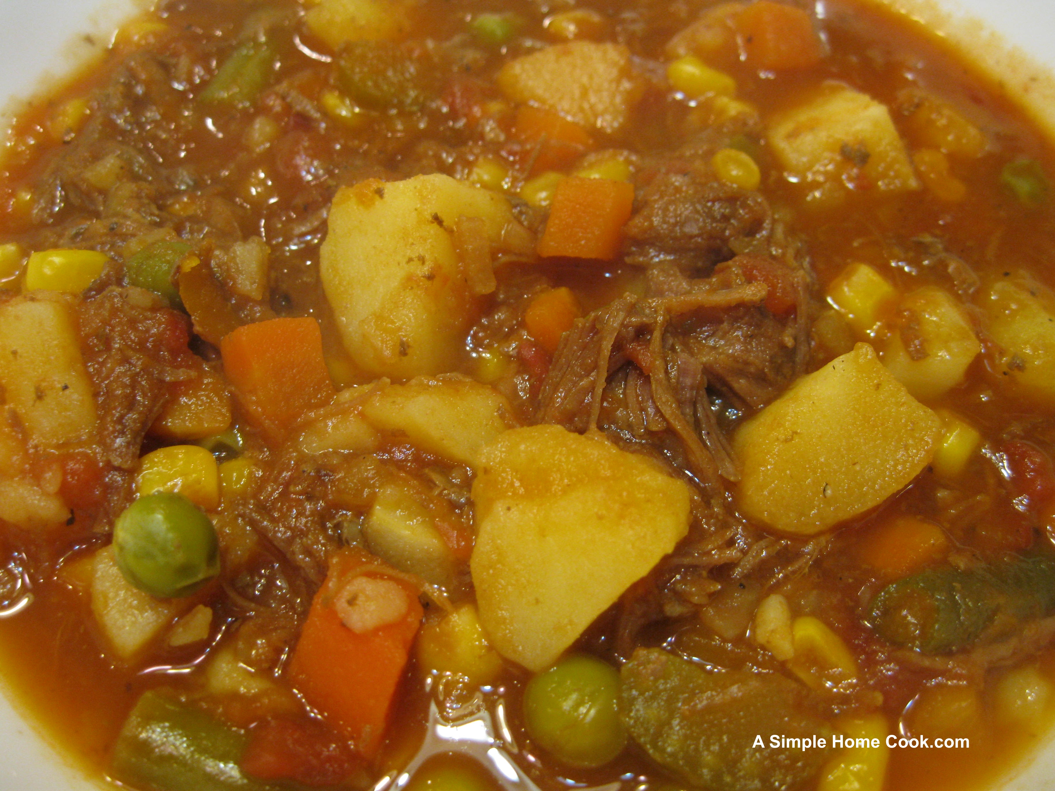 Beef Vegetable Soup - Viewing Gallery