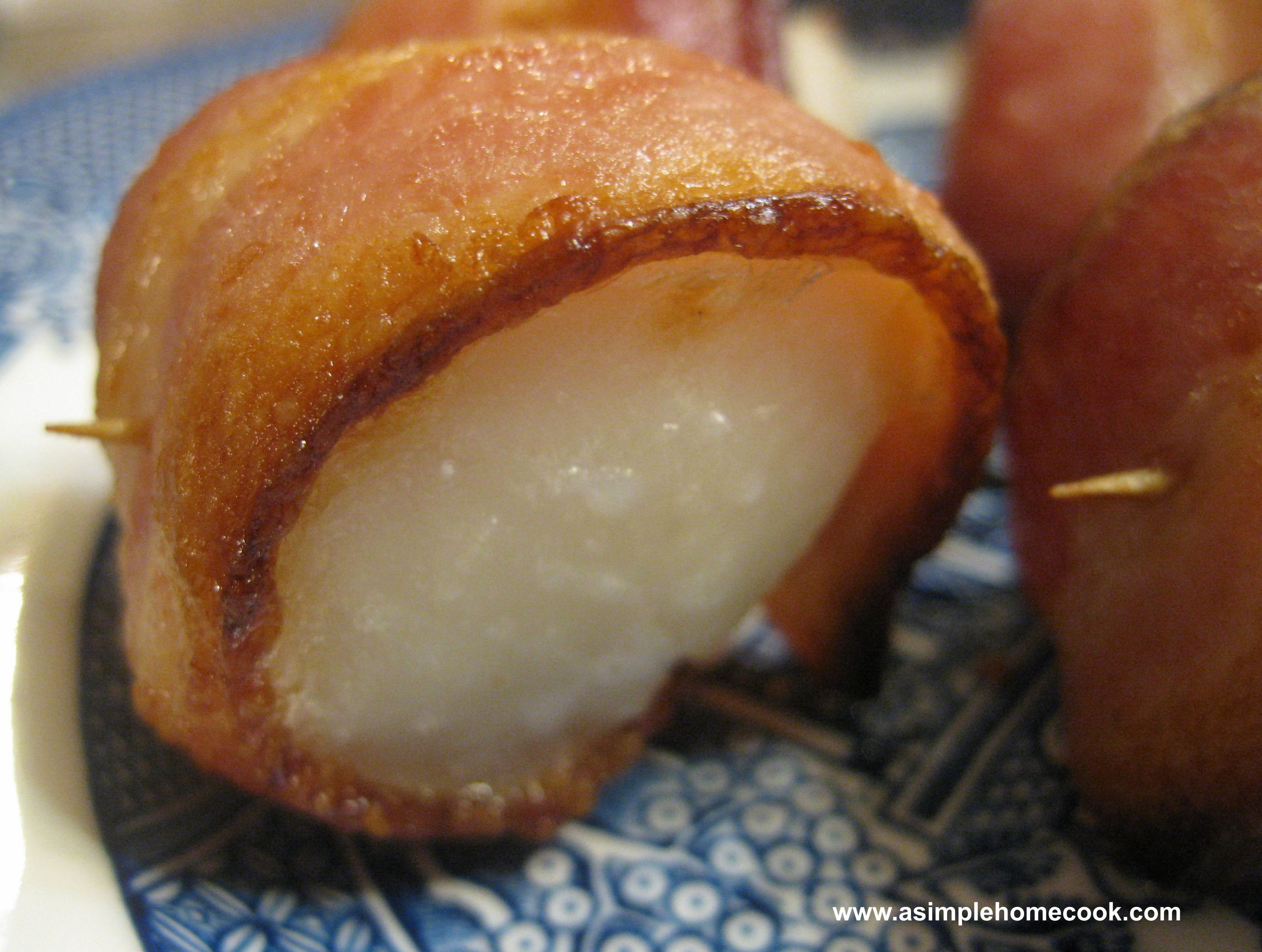 how to cook sea scallops with bacon