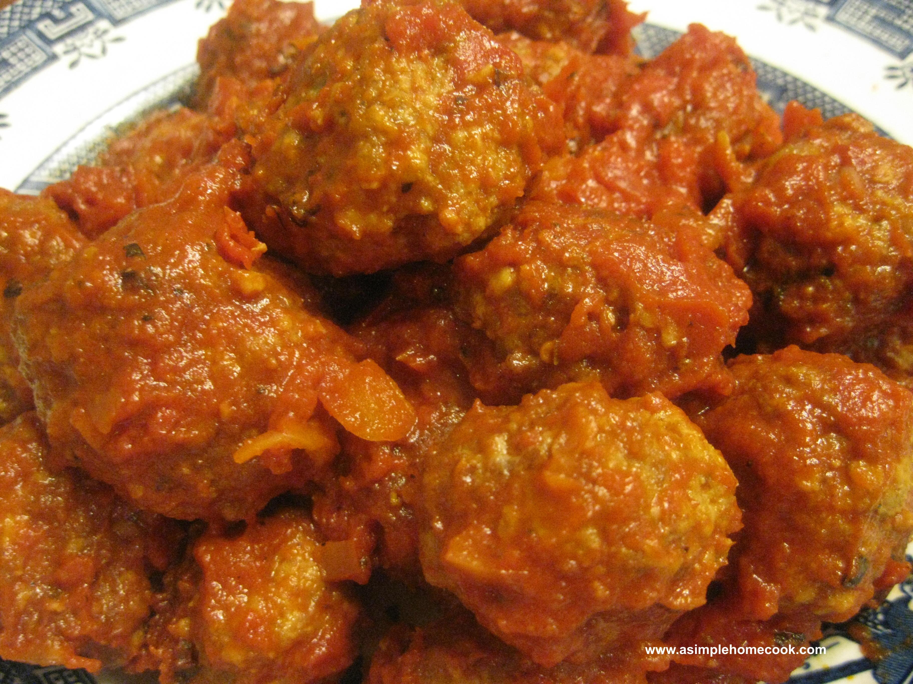 meatballs in tomato sauce final