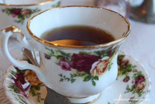 English Rose Tea Room tea