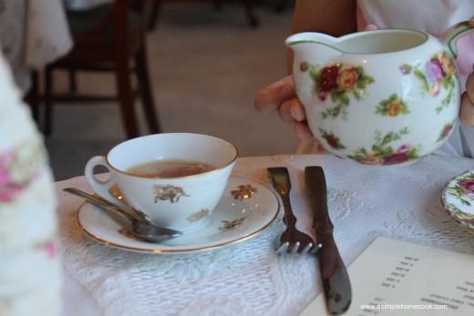 English Rose Tea princess cup