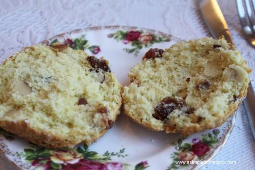English Rose Tea scone