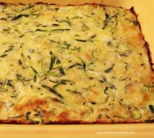 zucchini pizza crust done