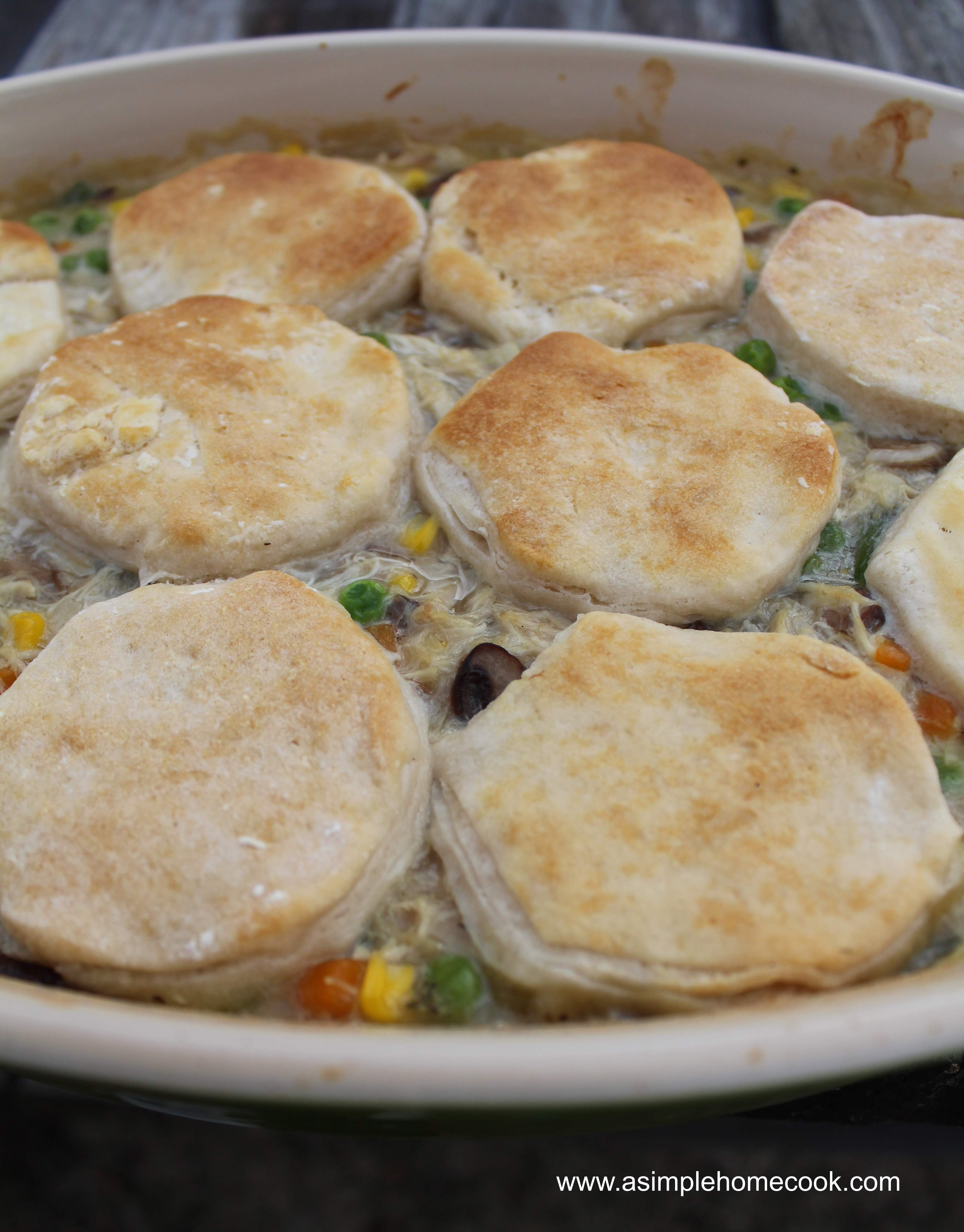 Quick and Easy Chicken Pot Pie
