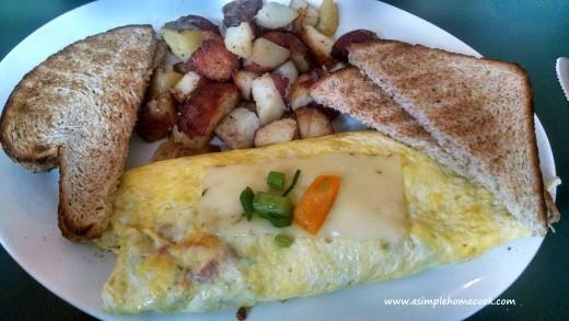 Bluegrass Grill Omelete