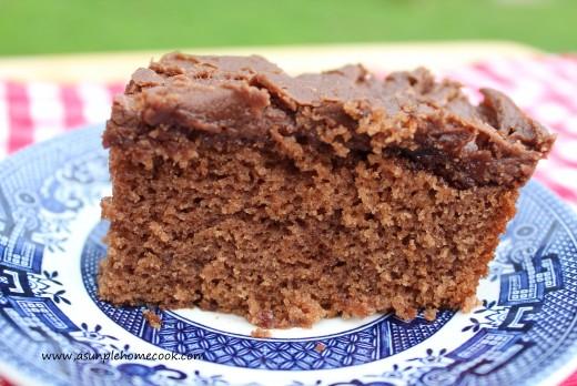 cola cake slice