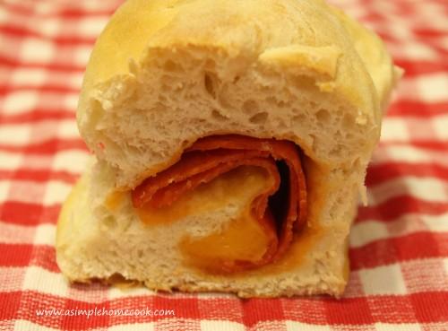 pepperoni roll cut
