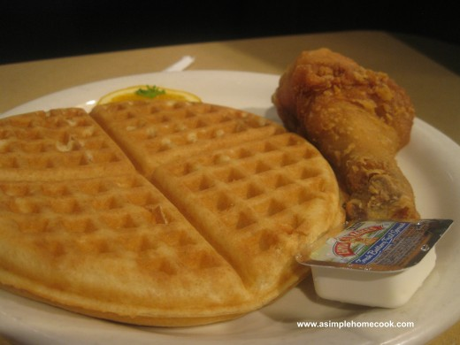 chicken and waffles kid