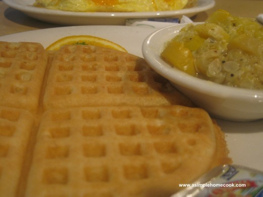 chicken and waffles squash