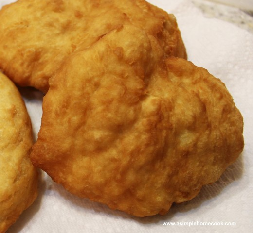 Indian fry bread plain