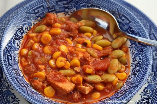 Brunswick stew  bowl