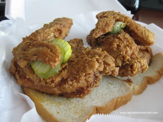 Hattie B's chicken