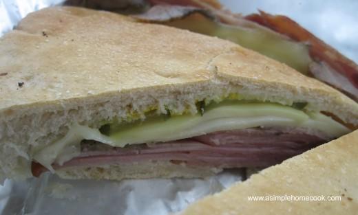 Back to Cuba Cuban sandwich