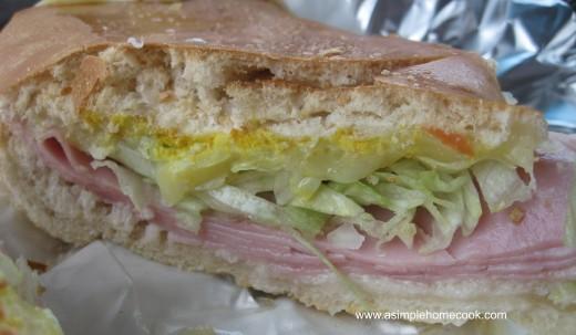 Back to Cuba Miami sandwich
