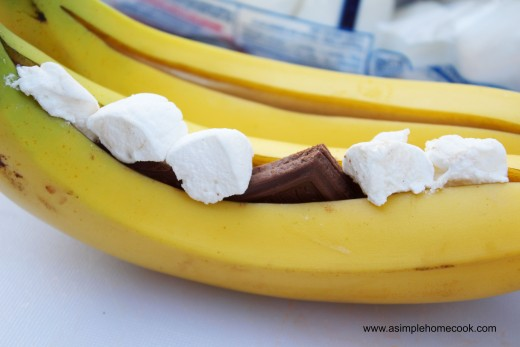 banana boat prep