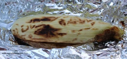 campfire corn on cob