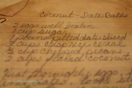 coconut date ball recipe