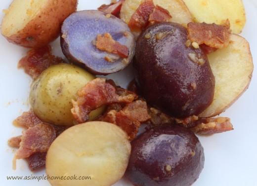 German Warm Potato Salad